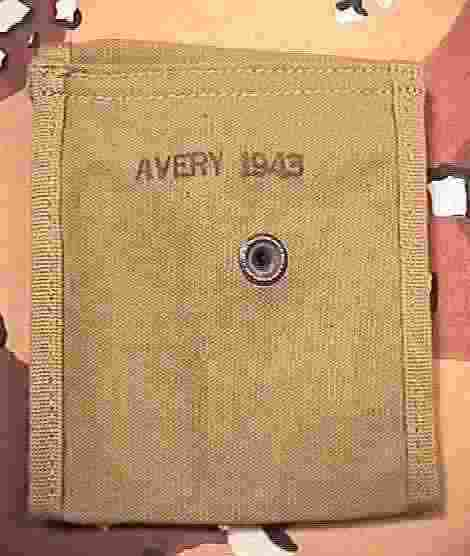 M1 Carbine Butt Stock Pouch - Avery - Back