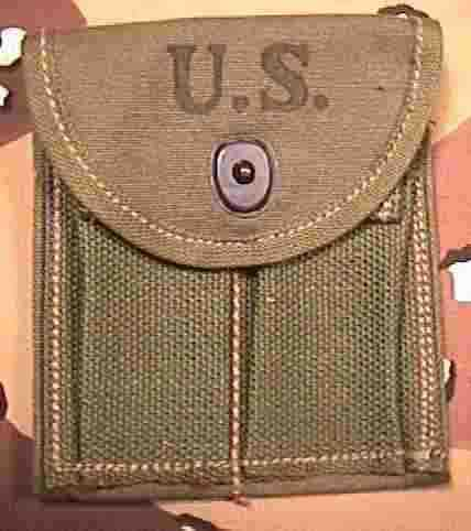 M1 Carbine Butt Stock Pouch - Hoff - Front